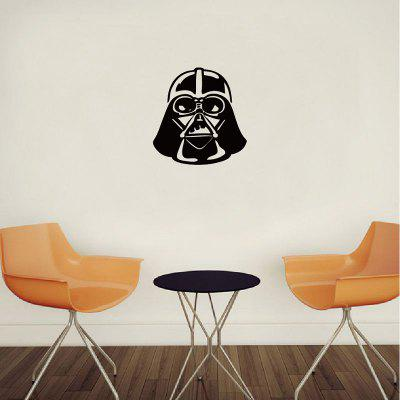 DSU Classic etiqueta de la pared de dibujos animados Darth Vader Vinyl Decal Home Decor