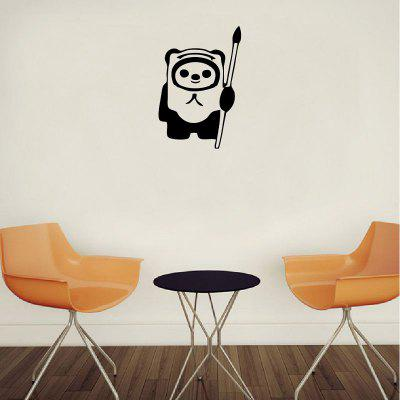 DSU Classic Wall Sticker Cartoon Ewok Vinyl Decal para el dormitorio