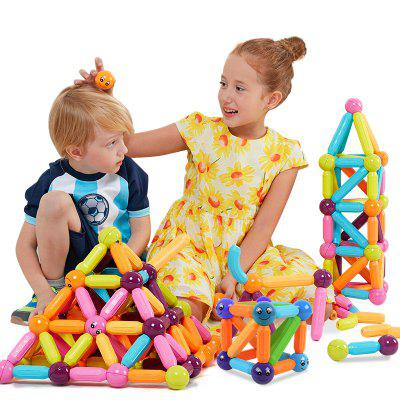 NK6820 magnetic rod piece gnucci male girl puzzle assembly magnet magnetic toy building blocks