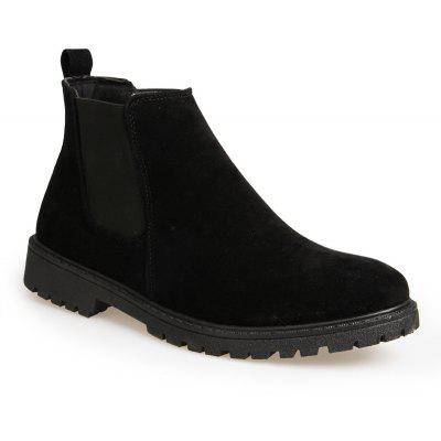 Men Casual Trend for Fashion Warm Winter Slip on Ankle Boots