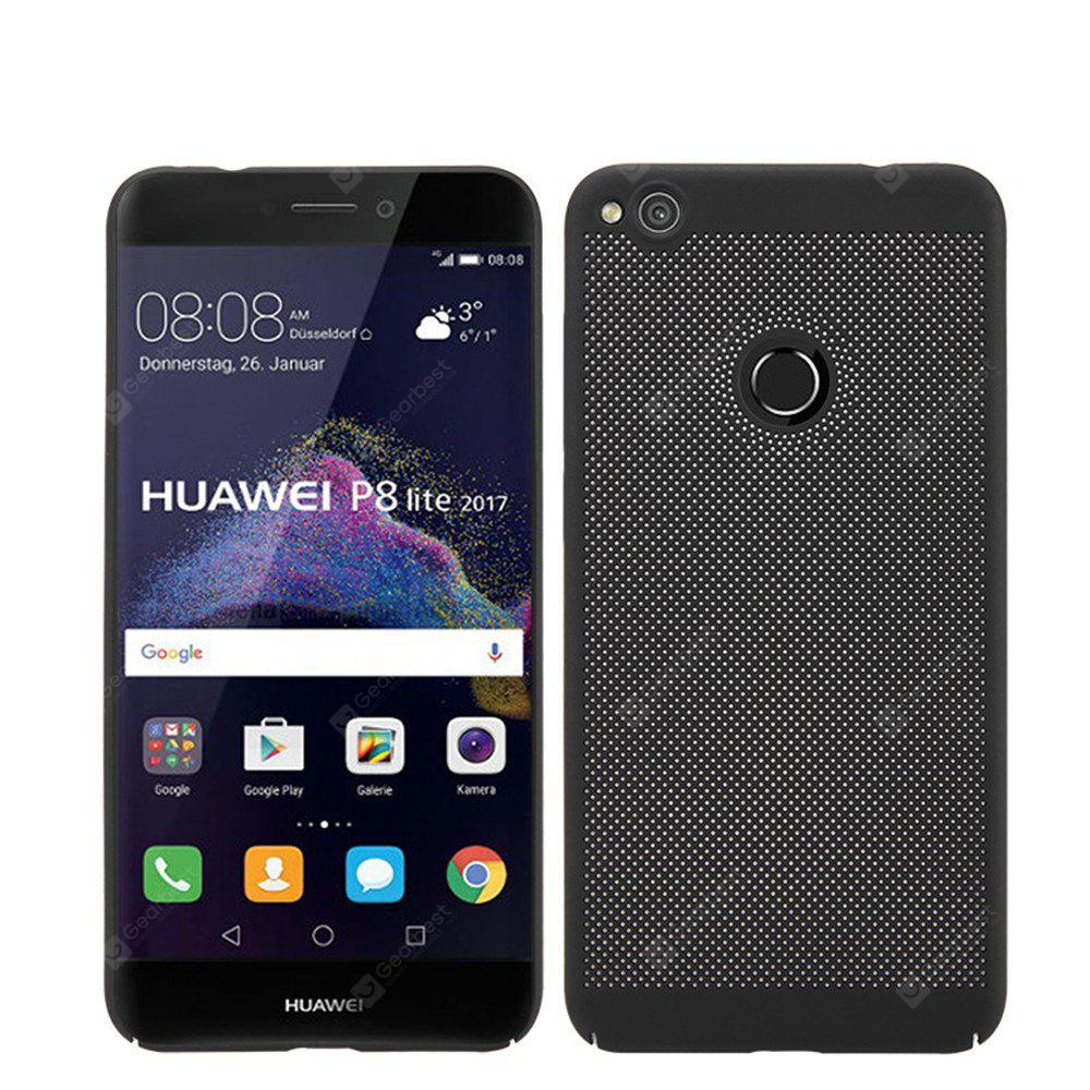 Heat Dissipation Ultra-Thin Frosted Back Cover Solid Color Hard PC Case for Huawei P8 Lite 2017
