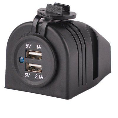 XY An Open USB Car Charger Socket for a Mobile Tablet Computer