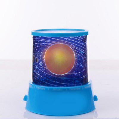 Cosmic Talent Round USB Power Projection Lamp