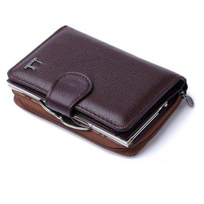 Buy Women's Coin Purses 2017 Genuine Leather Coin Wallets Female Small Wallet High Quality BROWN for $22.94 in GearBest store