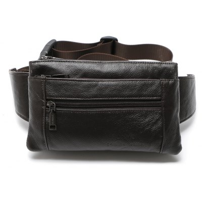Genuine Leather Waist Packs Fanny Pack Belt Bag Phone Travel Bags Waist Pack Male Small Waist Bag Leather