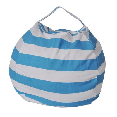 Large Capacity Horizontal Stripes Of plush Toy Bag