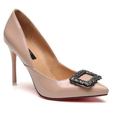 spring and summer new suede pump shoes