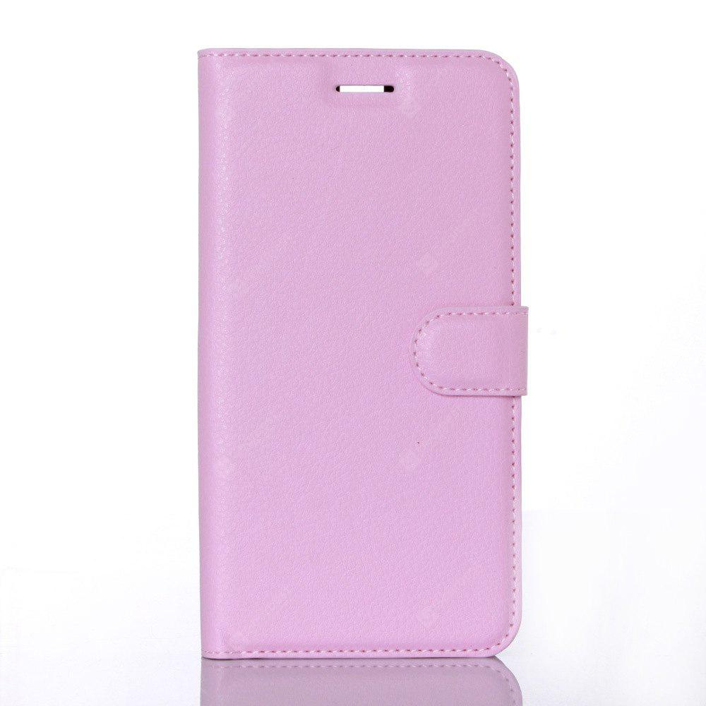 Litchi Grain Card Wallet Case para Elephone P8000
