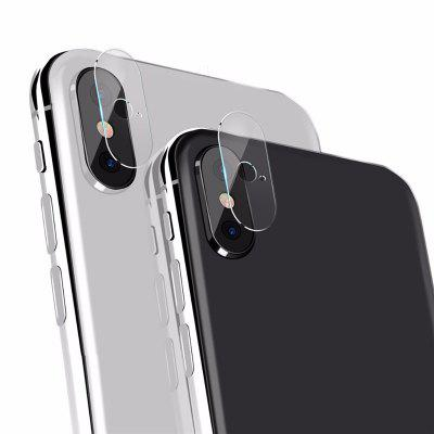 Mini Size Ultra thin Anti Falling 2.5D High Definition Back Camera Lens Film Protector for iPhone X