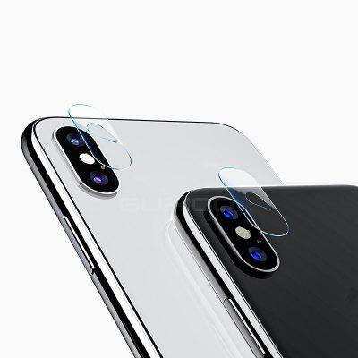 Camera Lens Screen Protector  Tempered Film Back cover Clear 7.5H Hardness 2.5D Glass for iPhone X