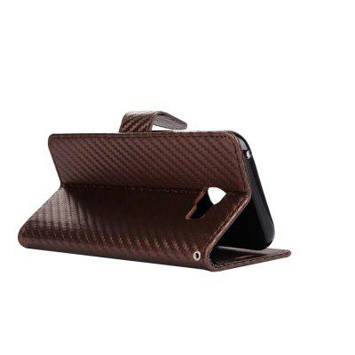 Carbon Fiber Pattern Flip PU Leather Wallet Case for Samsung Galaxy A3 2017Samsung A Series<br>Carbon Fiber Pattern Flip PU Leather Wallet Case for Samsung Galaxy A3 2017<br><br>Features: With Credit Card Holder<br>Material: PU Leather<br>Package Contents: 1 x Phone Case<br>Package size (L x W x H): 20.00 x 20.00 x 5.00 cm / 7.87 x 7.87 x 1.97 inches<br>Package weight: 0.0500 kg<br>Product weight: 0.0300 kg<br>Style: Solid Color
