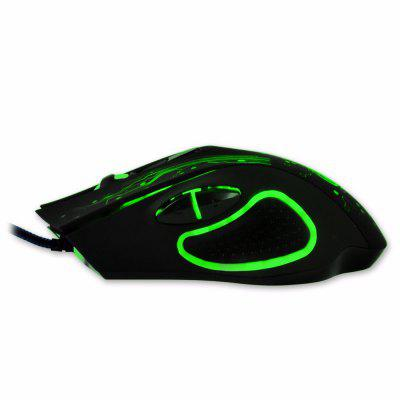 Estone X9 Gaming Mouse 3200 DPI USB Wired Optical LED Computer Mice Mause for Laptop PC Gamer Upgraded Version usb wireless mouse 6 buttons 2 4g optical mouse adjustable 2400dpi wireless gaming mouse gamer mouse pc mice for computer laptop