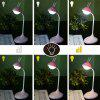 Rabbit Appearance Touch Control Table Lamp Eye Protection Rechargeable Table Lamp - WHITE
