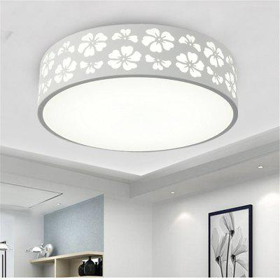 18 Watts and Three Colors Modern Simplified Snowflake Round LED Dome Light 30 Cm