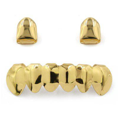 Hip Hop 18K Gold Plated Teeth Grillz