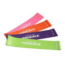 4 Pcs Elastic Rubber Yoga Body Building Stretch Resistance Band Loop Rope Fitness Equipment