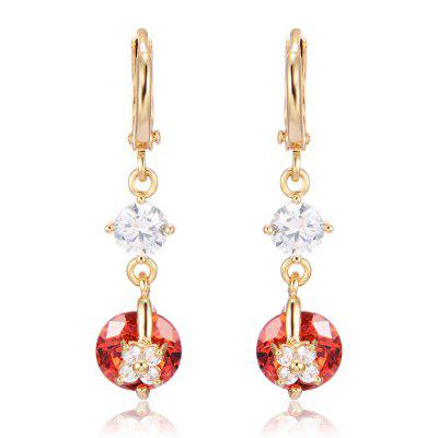 Elegant Fashion Zircon Earrings