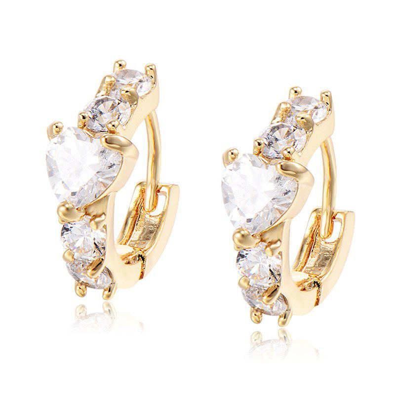 Extravagant and Large Zircon Earrings
