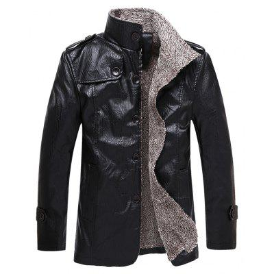 Autumn and Winter Men'S Clothing Fashion Warm and Velvet Jacket
