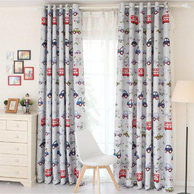 Child Cartoon Car Shading Curtain