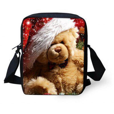 Christmas Handbags Cross Body Shoulder Package for School Travel