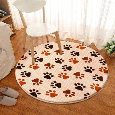 Floor Mat Footprint Pattern Round Rug Bedside MatCarpets &amp; Rugs<br>Floor Mat Footprint Pattern Round Rug Bedside Mat<br><br>Category: Mat,Carpet, Mat,Carpet<br>For: All, All<br>Material: Polyester fibre, Polyester fibre, Others, Others, Cotton, Cotton<br>Occasion: Office, Office, Dining Room, Dining Room, Bedroom, Bedroom, Bathroom, Bathroom, Kitchen Room, Kitchen Room, Living Room, Living Room<br>Package Contents: 1 x carpet, 1 x carpet<br>Package size (L x W x H): 20.00 x 20.00 x 5.00 cm / 7.87 x 7.87 x 1.97 inches, 20.00 x 20.00 x 5.00 cm / 7.87 x 7.87 x 1.97 inches<br>Package weight: 0.2500 kg, 0.2500 kg