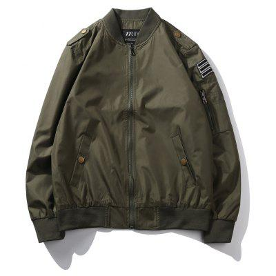 Spring Loaded Flight Jacket