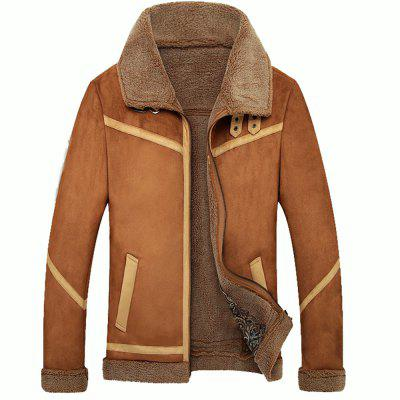 Casual Lapel Winter Thickened Jacket