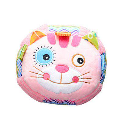 Happy Baby Plush Hand Holding Ball Comforting Toy