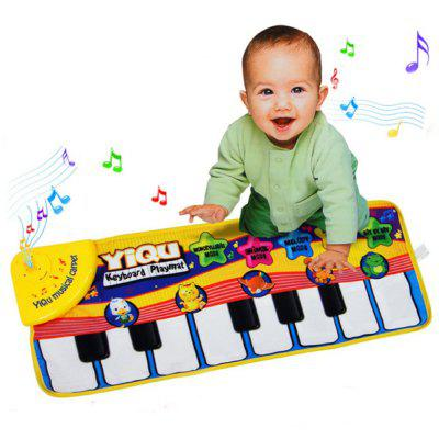 Selling Small Animals Touch Electronic Piano Children Multi-Function Music Game Carpet