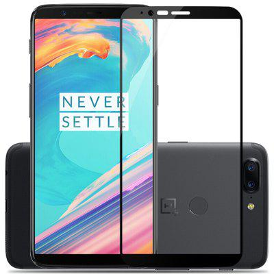 2.5D Arc Edge Full Coverage Tempered Glass Screen Protector For OnePlus 5T