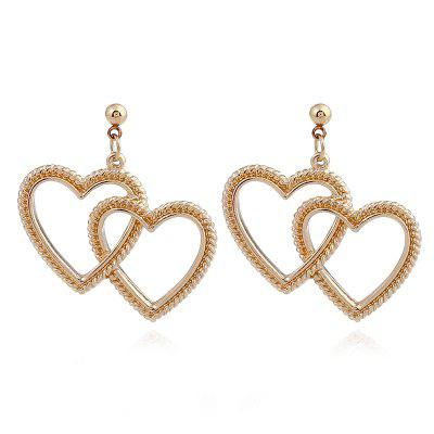 1PAIR Alloy Love Ear Nail Jewelry