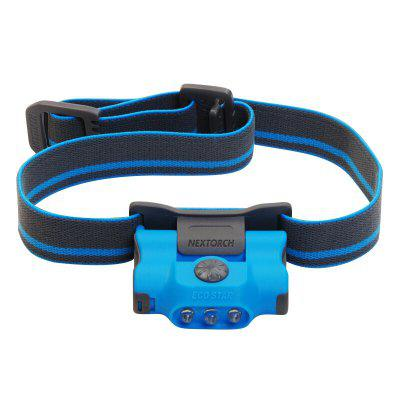 NEXTORCH ECO STAR Lightweight Headlamp and Clip Light Combo Multi-Purpose Lighting Solution
