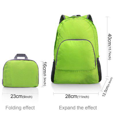 Lightweight Portable Backpack Foldable Durable Travel Hiking Backpack Daypack for Women/Men(Green) Load 20LBackpacks<br>Lightweight Portable Backpack Foldable Durable Travel Hiking Backpack Daypack for Women/Men(Green) Load 20L<br><br>Backpack Capacity: &lt;20L<br>Capacity: 11 - 20L<br>Color: Green<br>Features: Waterproof, Ultra Light<br>For: Tactical, Sports, Traveling, Hiking, Camping, Cycling, Climbing, Other, Casual<br>Gender: Unisex<br>Material: Nylon<br>Package Contents: 1xbackpack<br>Package size (L x W x H): 20.00 x 25.00 x 3.00 cm / 7.87 x 9.84 x 1.18 inches<br>Package weight: 0.1500 kg<br>Strap Length: 32cm<br>Style: Sport, Leisure, Fashion<br>Type: Backpack
