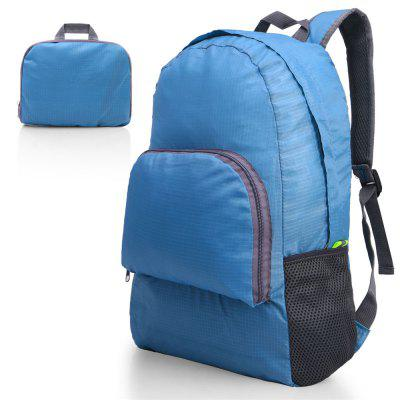 Ultra Lightweight Portable Backpack Foldable Durable Travel Hiking Backpack Daypack for Women/Men ( Blue ) Load 20L