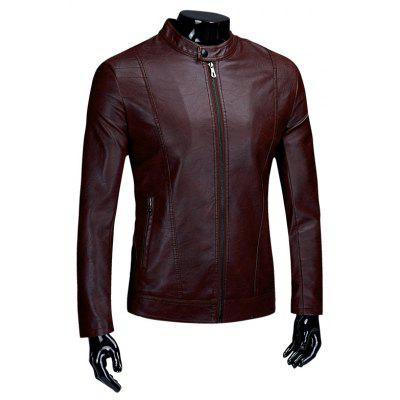 Men'S Handsome Personality and Casual Clothes Coat
