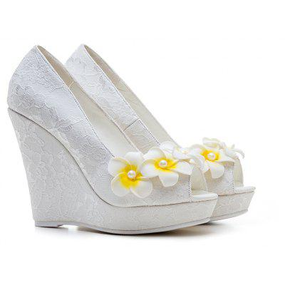 Women's  Spring Summer Fall Winter Club Shoes Flower Girl Shoes Customized Materials Heels