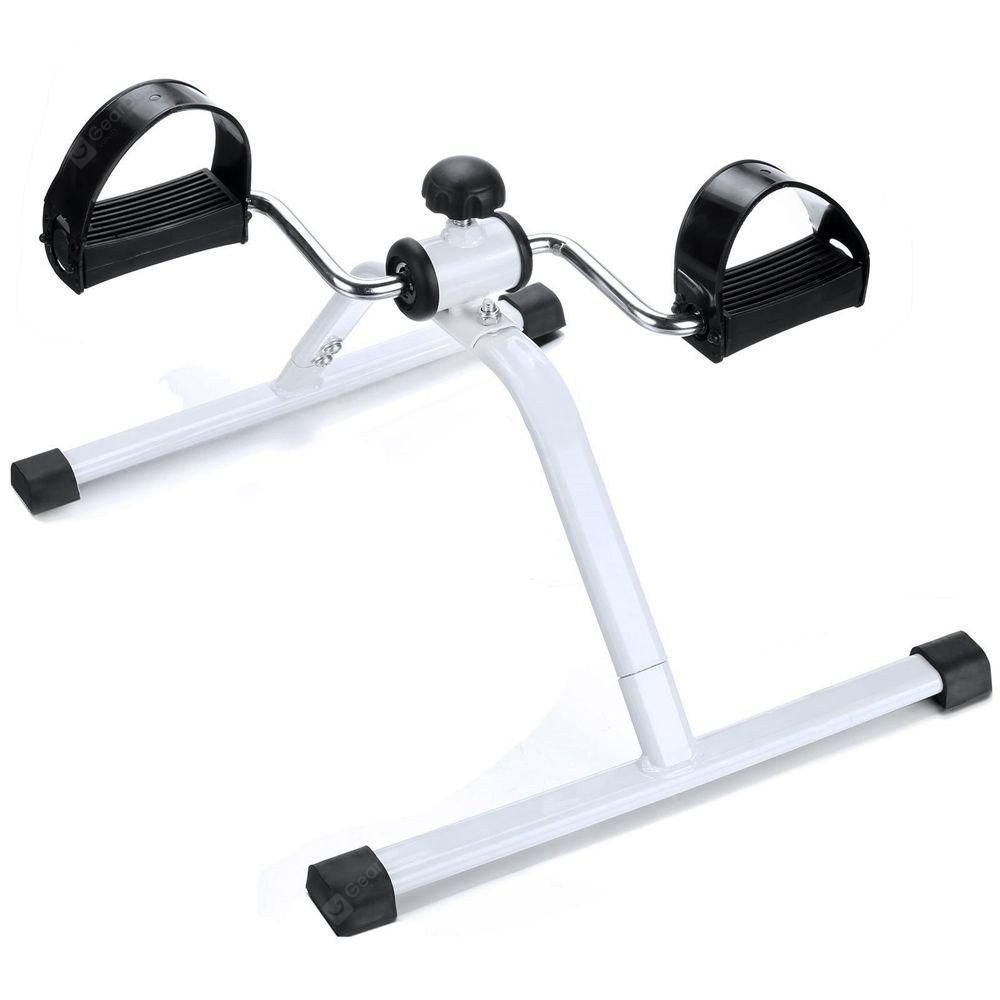Cheap Mini Pedal Exercise Bike WHITE