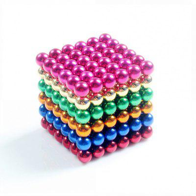 Magnetic Balls (5MM Set of 216 Balls) DIY Multicolor Stainless Steel  Sculptures  Healing  Creative Toys Magic Cube