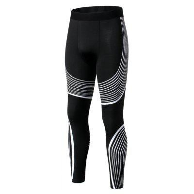Men'S Fashion Colour Outdoor Fitness Tight Pants