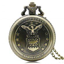REEBONZ Steampunk Vintage Bronze Quartz Pocket Watch Necklace Pendant