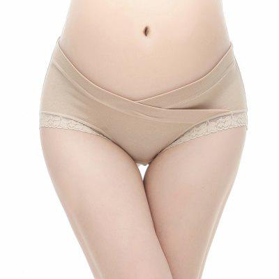Womens Pregnancy Underwear Cotton Maternity Panties under the Bump Briefs Lace Leg-band Underpants Hipsters 4-Packmaternity clothing<br>Womens Pregnancy Underwear Cotton Maternity Panties under the Bump Briefs Lace Leg-band Underpants Hipsters 4-Pack<br><br>Elasticity: Elastic<br>Material: Cotton<br>Pattern Type: Others