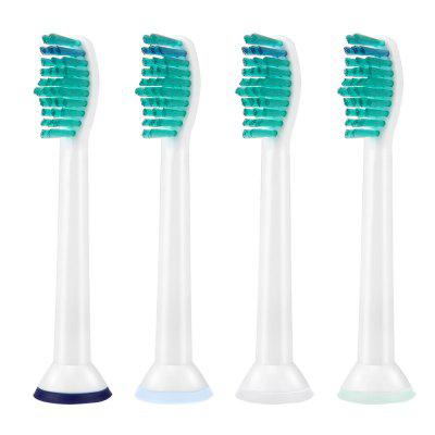 Generic Toothbrush Replacement Heads for Philips Sonicare Electric Toothbrush HX6710 HX6930 HX6530 HX6210 4-Pack