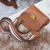 Female Trendy Messenger Casual Wild Shoulder Handbag - BROWN