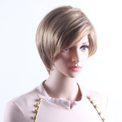 Short Wavy Mixcolor Wigs For Women Heat Resistant Synthetic Hair Wigs SW0096 cheap heat resistant synthetic short hair curly wigs for black women peluca cosplay synthetic women best natural looking wigs