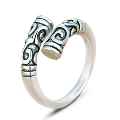 925 Sterling Silver Magic Spell Open Rings for Women Personality