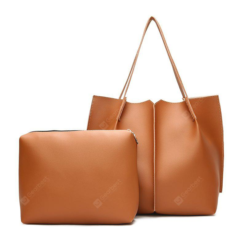 Female High-Capacity Tote Bag Hand Shoulder Bag Simple Wild Child Package