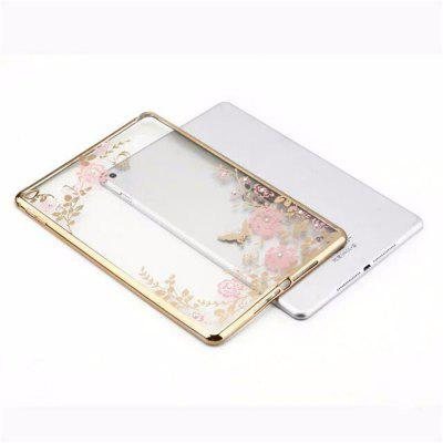 Padrão de silicone TPU Leather 13 Inch Cover for IPad AirFlat Protective Sleeve Transparent