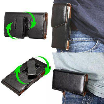 5.7 Inch Universal Case 360 Vertical Rotation Belt Clip For All Smart Phone 5.2-5.7 Inch