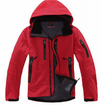 Men&amp;#39;s Fashion Winter Rea Outdoorl Hooded Softshell for Windproof and Waterproof Clothes Mountaineering Clothing Soft Shell JacketMens Jackets &amp; Coats<br>Men&amp;#39;s Fashion Winter Rea Outdoorl Hooded Softshell for Windproof and Waterproof Clothes Mountaineering Clothing Soft Shell Jacket<br>
